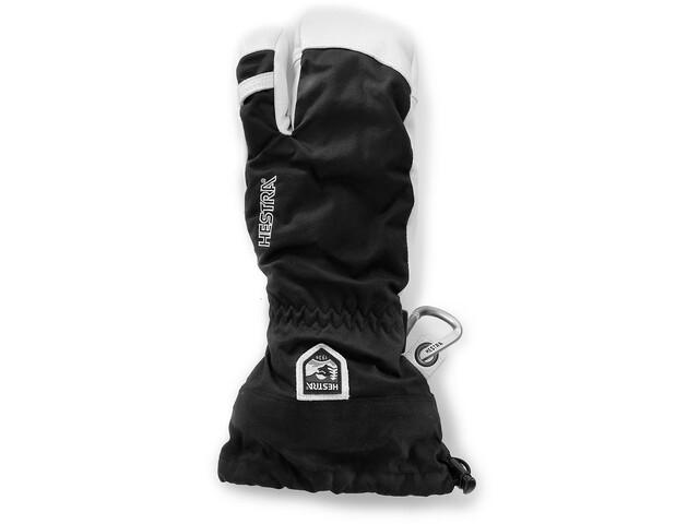 Hestra Army Leather Heli Ski 3-Finger Svart (100)